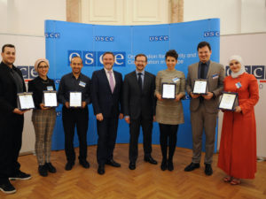 Young green entrepreneurs from six Mediterranean countries received TheSwitchersFund OSCE GEMS Award in Vienna.